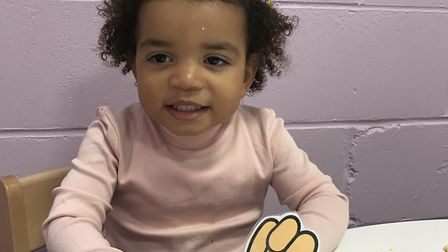 Youngsters at Twizzle Tops Day Nursery enjoyed a day of Children in Need activities Picture: TWIZZLE TOPS DAY NURSERY
