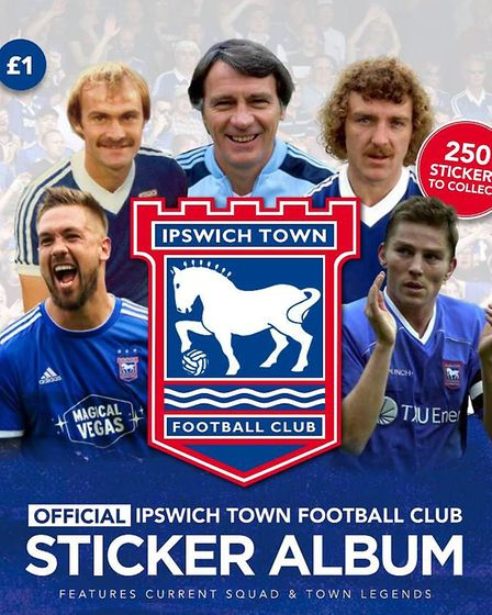 The EADT and Ipswich Star have created the best-ever Ipswich Town sticker book, in conjunction with