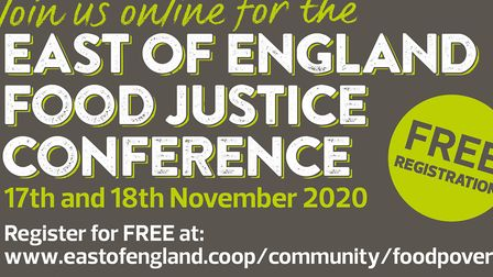 The East of England Food Justice Conference takes place this week Picture: East of England Co-op