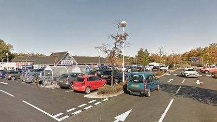 Suffolk police are working to tackle anti-social behaviour at the car park outside Tesco in Stowmark