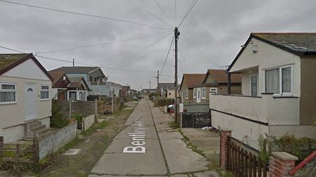 Police are investigating a fire at a house in Jaywick Picture: ESSEX POLICE