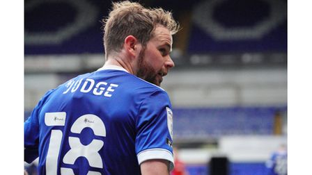 Alan Judge has been in and out of the Town side. Picture: Steve Waller www.stephenwaller.