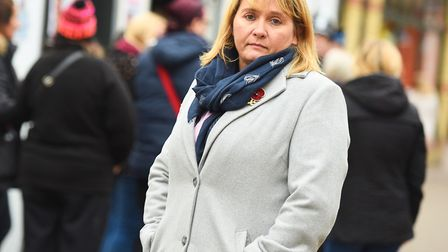 Nicola Urquhart pictured in Bury St Edmunds in 2016 Picture: ARCHANT