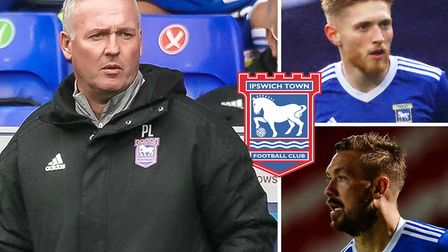 Paul Lambert, Teddy Bishop and Luke Chambers have all played key parts in Ipswich Town's season so f