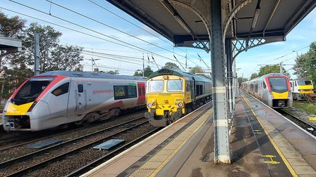 Ipswich station has been awarded recognition for its safety work. Picture: PAUL GEATER