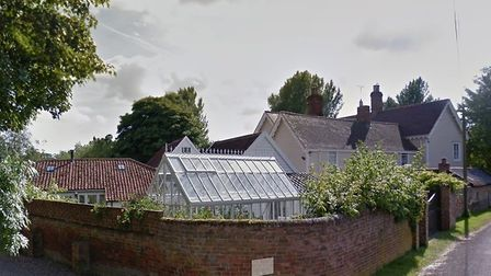 The incident happened outside Wixoe Mill Picture: GOOGLE