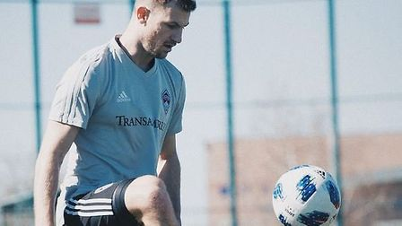 Tommy Smith during his time with Colorado Rapids, following his departure from Ipswich Town in 2018.