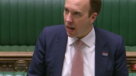 Health Secretary Matt Hancock has also been sent the open letter, which calls for rapid action to ad