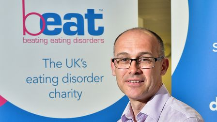 Beat charity chief executive Andrew Radford said calls to its helplines have doubled during the Covi