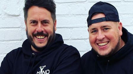 Two brothers from Ipswich have set up their own mental health fitnesswear brand, Mind Fitness Pictu