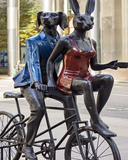 Tandem Lovers by Gillie and Marc. Picture: Lesley Johnson