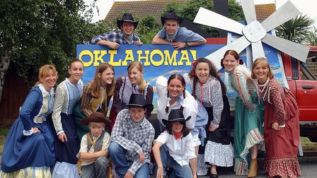 Stage Door Company's float at Trimley Carnival in 2005 Picture: LUCY TAYLOR/ARCHANT