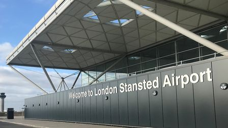 London Stansteds terminal building will shut overnight during the lockdown travel ban Picture: STANS
