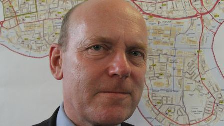 """Mayor John Biggs... """"We will take action where people wilfully break the rules."""" Picture: Mike Brook"""