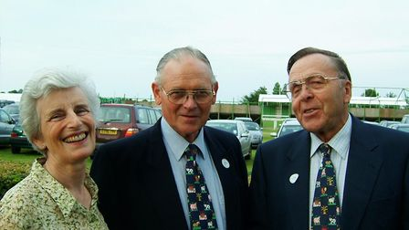 Jill Scott, Tom Scott and Alan Alston at a Royal Agricultural Benevolent Institution event at the
