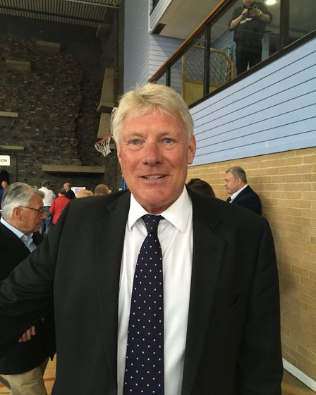 West Suffolk Council leader John Griffiths. Picture: MARIAM GHAEMI