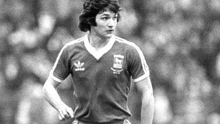 George Burley in action. He tops the charts for Carl Marston's Top Five right-backs at Ipswich Town