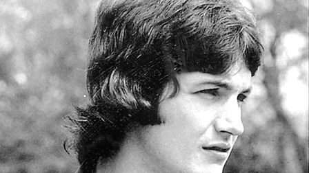 A very youthful George Burley, early on in his Ipswich Town career