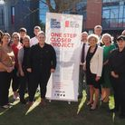 The launch of the One Step Closer programme at West Suffolk College in 2019, to help 16-24s into apprenticeships...