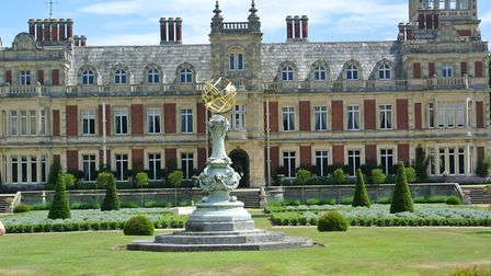 The inspiring West Front of Somerleyton Hall