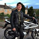 Jake Page, 19, who was tragically killed on his motorbike following a crash in Sudbury. Picture: SUPPLIED BY FAMILY