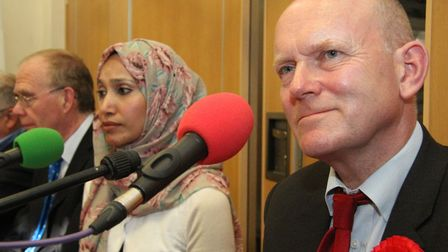 John Biggs wins 2015 election for mayor... just beating Rabina Khan's People's Alliance into 2nd pla