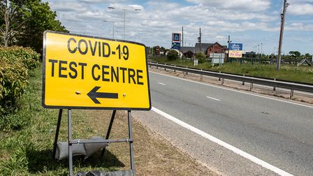Mid Suffolk currently has the lowest Covid case rate in the country Picture: SARAH LUCY BROWN
