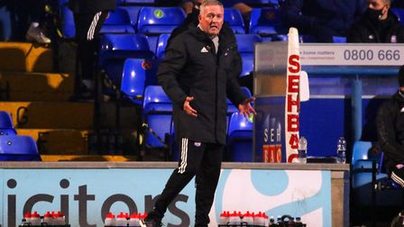 Paul Lambert remains a divisive figure at Ipswich Town Picture: ROSS HALLS