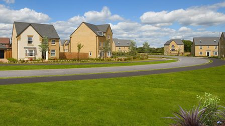 David Wilson Homes is building new homes at Marham Park, in Bury St Edmunds. Picture: DAVID WILSON H