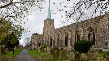 Several ghosts are said to roam the churchyard at St Margarets church in Lowestoft. PHOTO: Nick Butcher