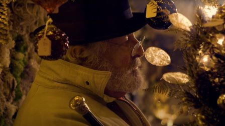 Another still from the Christmas film that will be on the Our Bury St Edmunds Facebook page at 7pm tomorrow Picture: OUR...