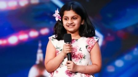 Souparnika Nair from Bury St Edmunds, who reached the Britain's Got Talent semi-finals, will be performing as part of...