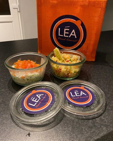 Mark and Liz tried the LEA takeway offering from Maison Bleue in Bury St Edmunds - here are their st