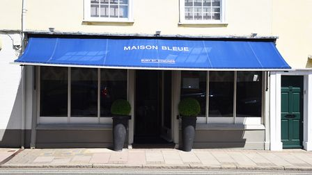 Maison Bleue is one of the best restaraunts in Suffolk, and the UK