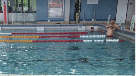 Enjoying facilities when they were open at St George's. Picture: Vytautas Rudy/Google