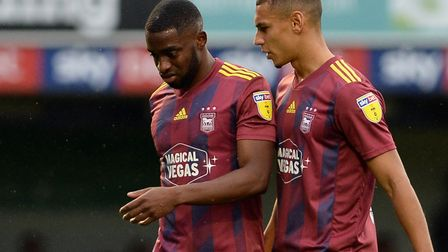Kane Vincent-Young hasn't played for Ipswich Town in more than a year. Picture Pagepix Ltd