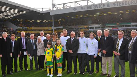 Duncan's Day at Carrow Road, a special day dedicated to raising funds for raising funds for Canaries