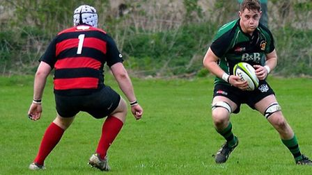 Rugby action from the local sports scene this season.