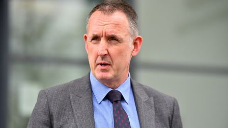 DCI Mike Brown said the identity of the bones was still unknown Picture: JAMIE HONEYWOOD
