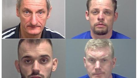 Clockwise from top left: Adrian Page, Thomas Broughton, Michael Dawson and Lewis Whitehouse Picture
