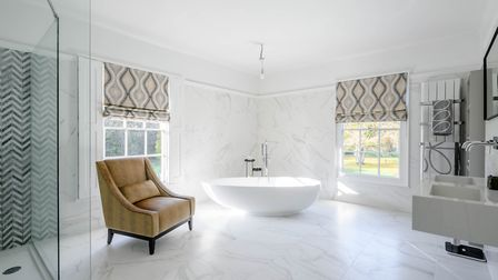 The property contains five bathrooms in all Picture: STRUTT & PARKER