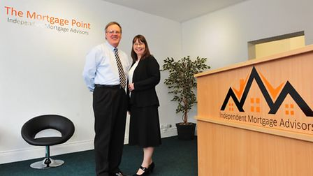 Former Commando John McGrath with his wife Jill have opened up a mortgage company in Beccles.