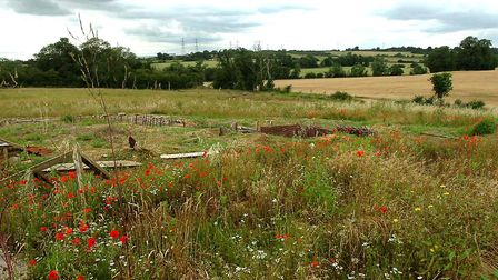 Suffolk Trenches in Akenham. Picture: ARCHANT