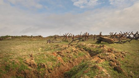 The Suffolk Trenches near Ipswich. Picture: SARAH LUCY BROWN
