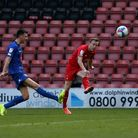 Danny Johnson of Leyton Orient scores the second goal for his team during Leyton Orient vs Harrogate