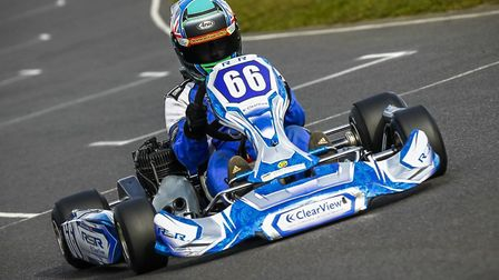 14-year-old Ollie Handley, from Colchester, has made an incredible recovery after he crashed into a tyre wall at 58mph...