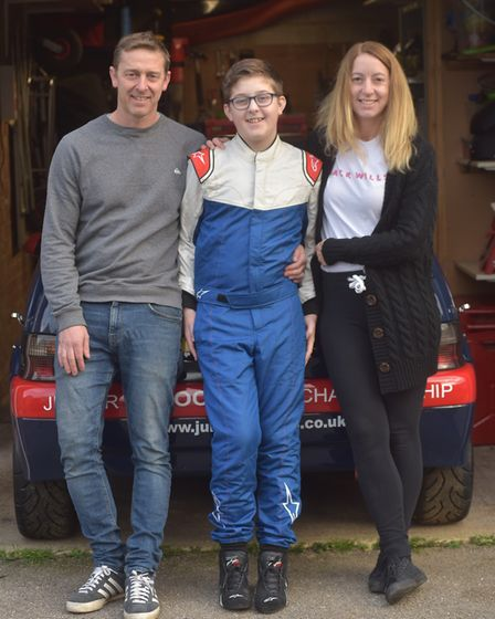 Ollie Handley is currently recovering after a horrific go kart accident left him with a broken leg back in March. He's...