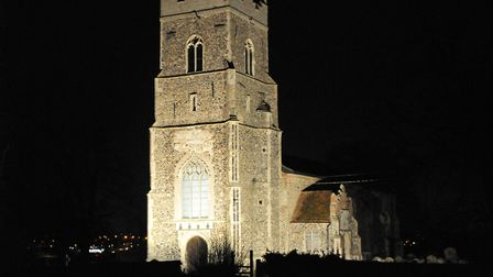 St Peter's Church in Copdock is asking for people to sponsor throughout December Picture: IAN EVANS