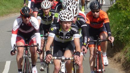 Cycling, photos by Fergus Muir taken at the Autostrasse Road Race (13/4) ...965 The bunch on t