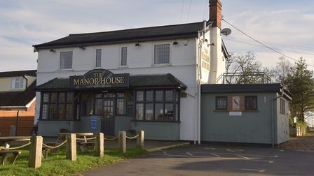 The Manor House pub in Wortham which has recently shut down.